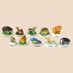 画像1: フェーブ 森の動物たち 10種類