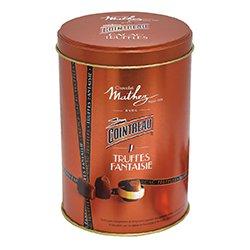 画像1: ショコラマセズ トリュフ オ コアントロー 缶 130g