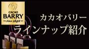 カカオバリー ラインナップ紹介