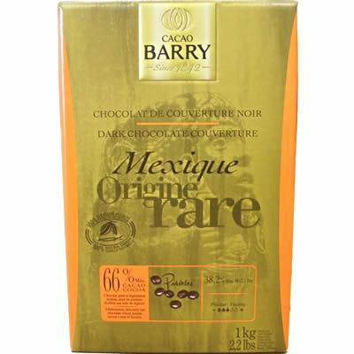 カカオバリー オリジン ピストール メキシック カカオ66% 1kg